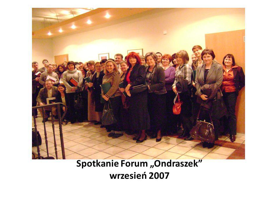 """Spotkanie Forum """"Ondraszek październik 2008"""