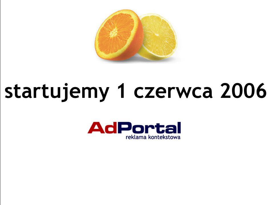 Strona 32 AdPortal | Senatorska 13/15, 00-075 Warszawa | tel.+48 22 829 65 21 | fax:+48 22 829 65 74 | www.adportal.pl | box@adportal.pl startujemy 1 czerwca 2006