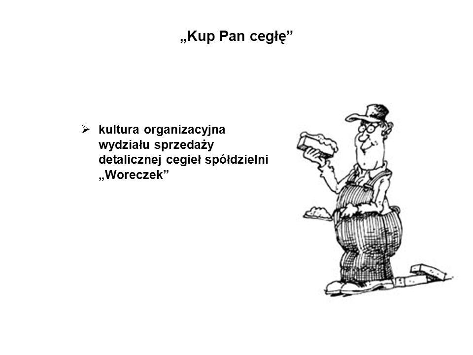Kultura organizacyjna stanowi spoiwo firmy.