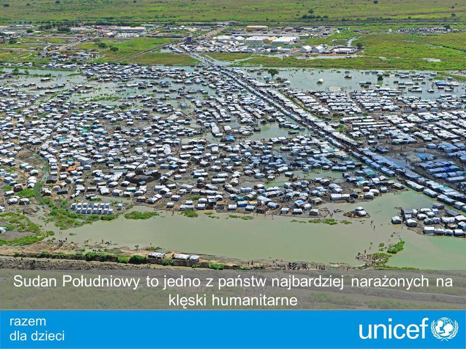 Sudan Południowy to jedno z państw najbardziej narażonych na klęski humanitarne