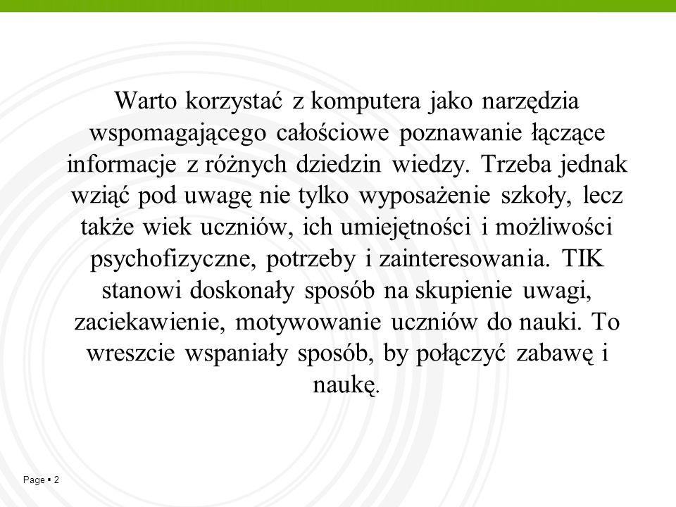 Page  13 Zastosowanie narzędzi TIK w dydaktyce polonistycznej  Mapa myśli - www.mind42.com,www.mind42.com  Plakat interaktywny.
