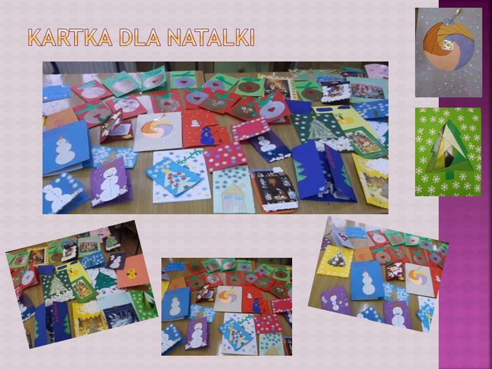 Opracowała Grażyna Kamińska Wszystkie przygotowane i zgromadzone kartki zostały spakowane do dwóch przygotowanych kopert i wysłane.