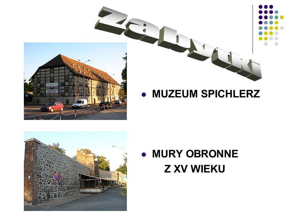 MUZEUM SPICHLERZ MURY OBRONNE Z XV WIEKU
