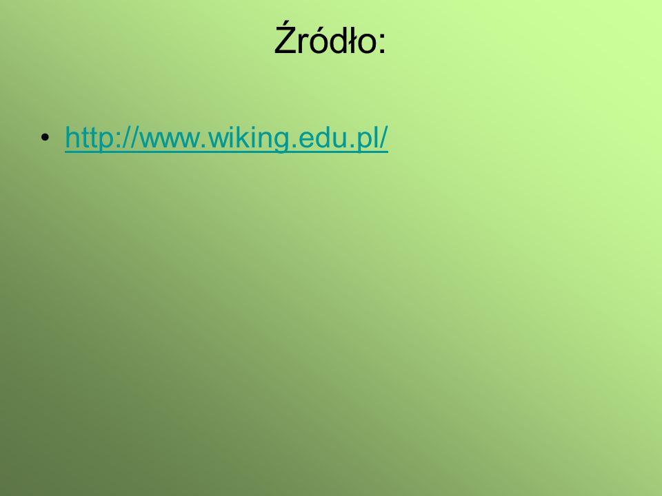 Źródło: http://www.wiking.edu.pl/