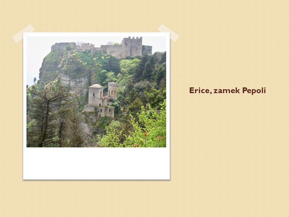 Erice, zamek Pepoli