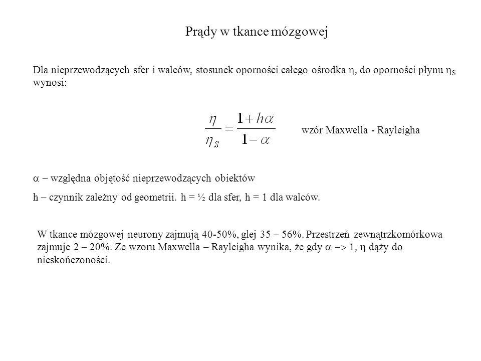Warunki brzegowe w ośrodkach niejednorodnych Zawsze dane będzie jedno równanie na nieznany potencjał Φ i (r, t) lub Φ j (r, t) w danym obszarze.