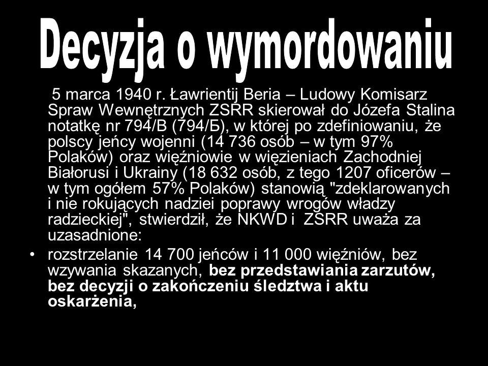 Do jednych z największych zbrodni II wojny światowej należy zbrodnia w Katyniu. Rosjanie dopuścili się bestialskiej zbrodni na około 15 tysiącach pols