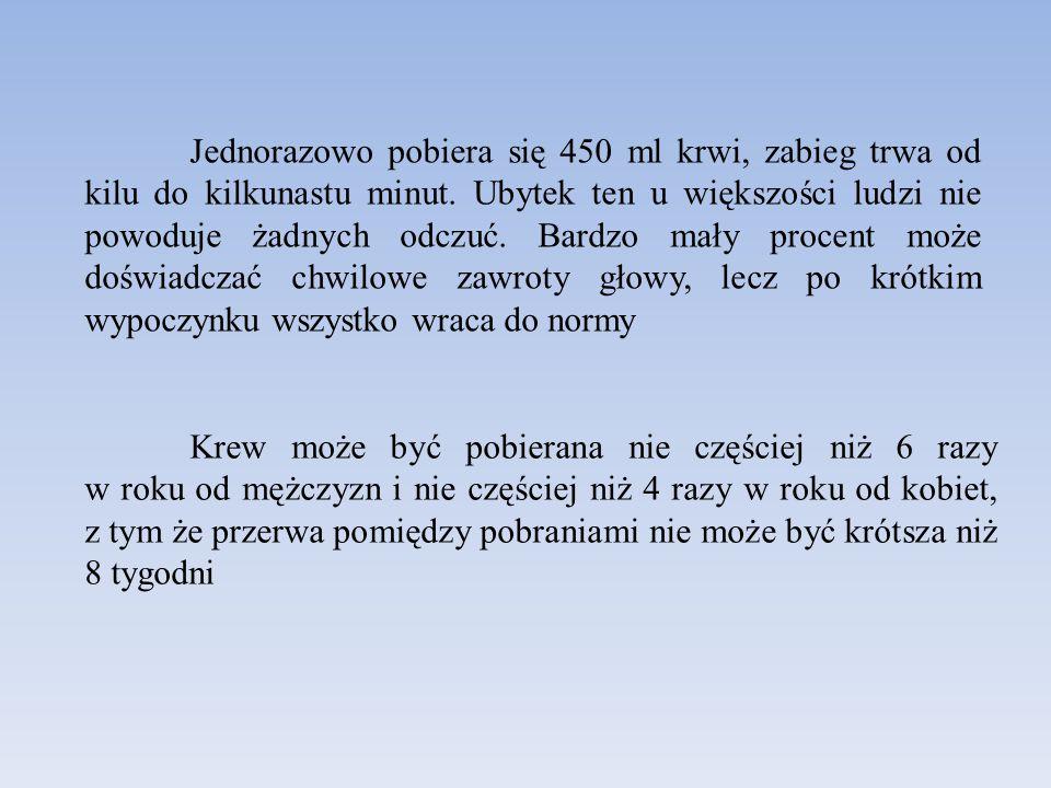 W Polsce krwiodawstwo opiera się w ponad 99% (w 2012 roku ponad 608.000 osób) na dawcach honorowych.