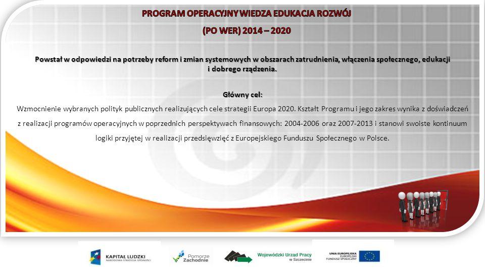 Powstał w odpowiedzi na potrzeby reform i zmian systemowych w obszarach zatrudnienia, włączenia społecznego, edukacji i dobrego rządzenia.