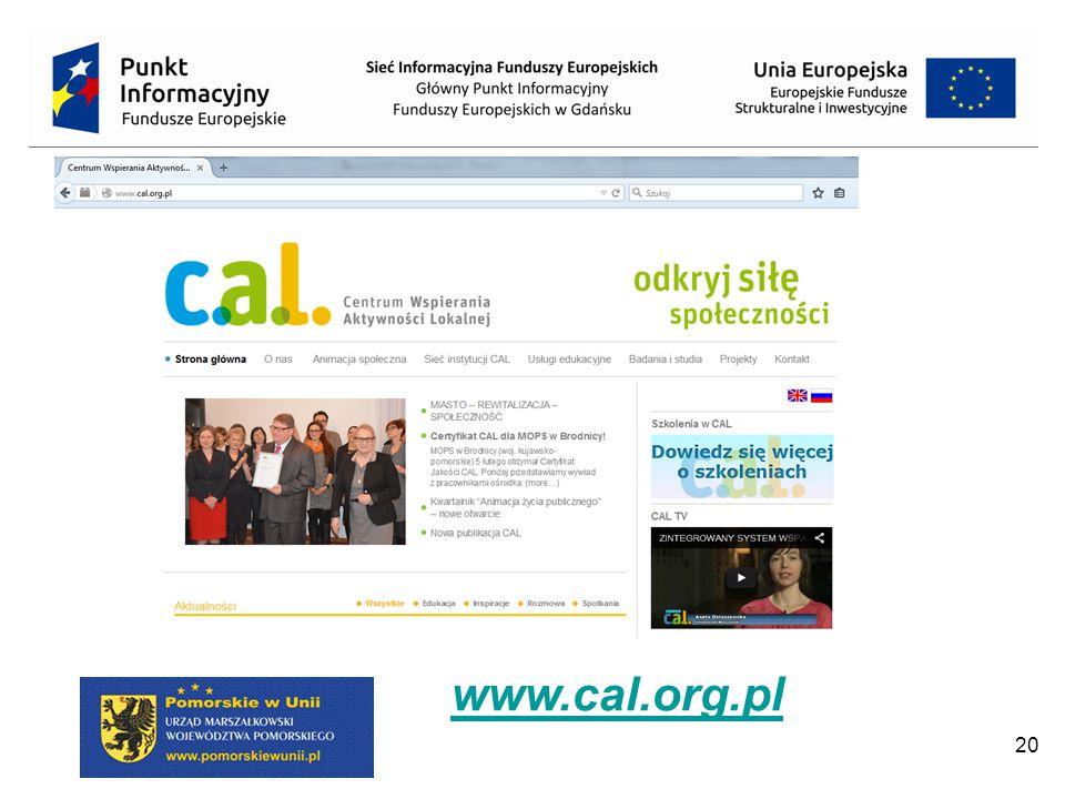 20 www.cal.org.pl