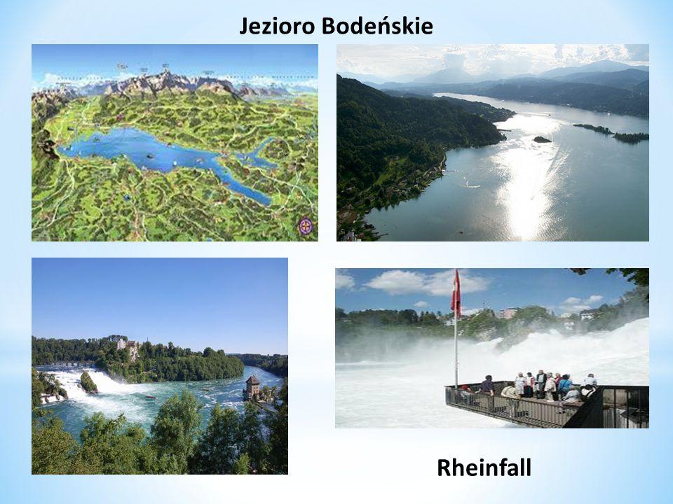 Jezioro Bodeńskie Rheinfall