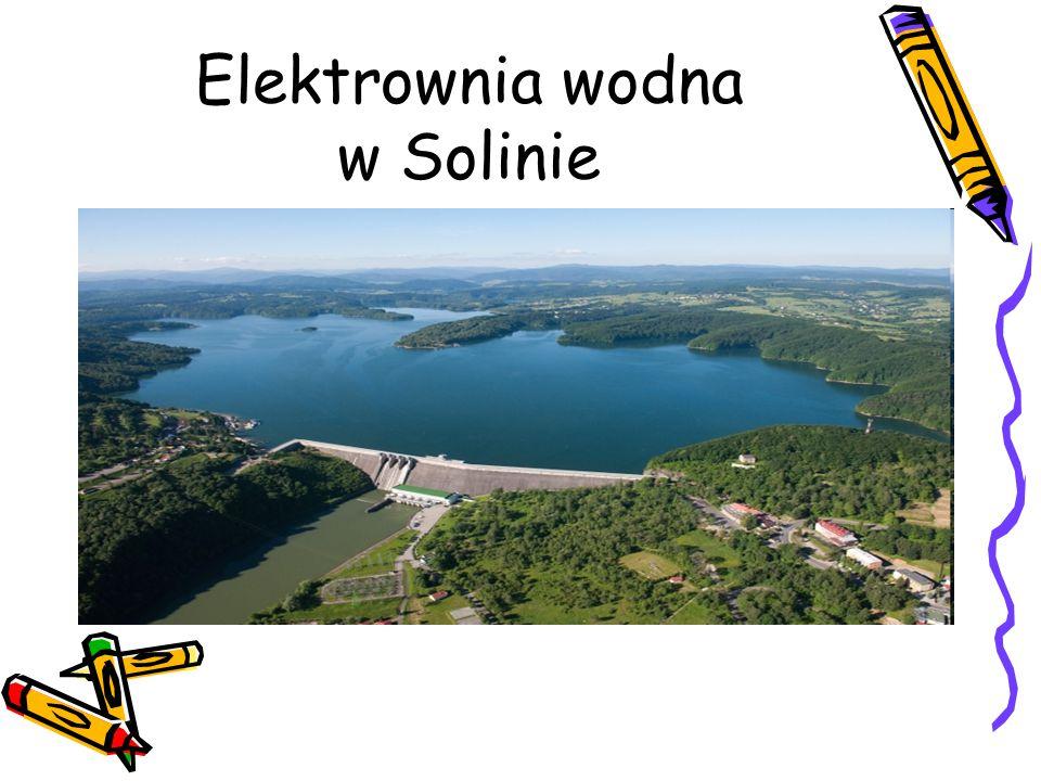 Elektrownia wodna w Solinie