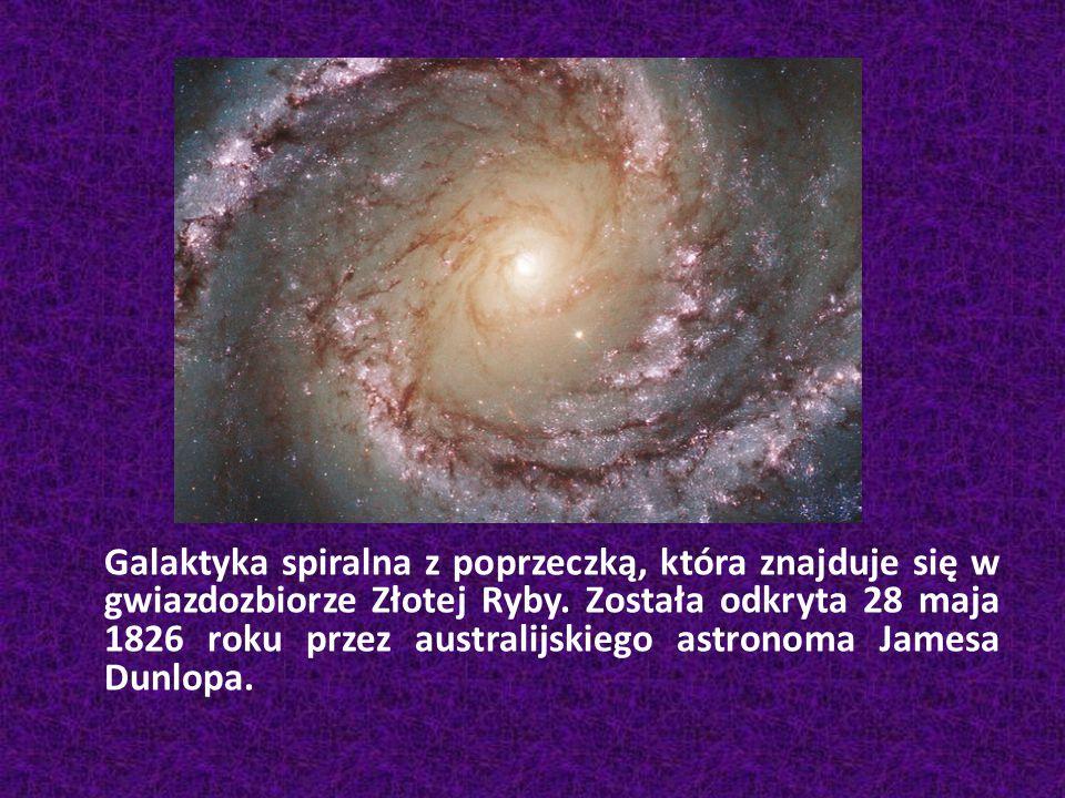 Galaktyka spiralna z poprzeczką, która znajduje się w gwiazdozbiorze Złotej Ryby. Została odkryta 28 maja 1826 roku przez australijskiego astronoma Ja