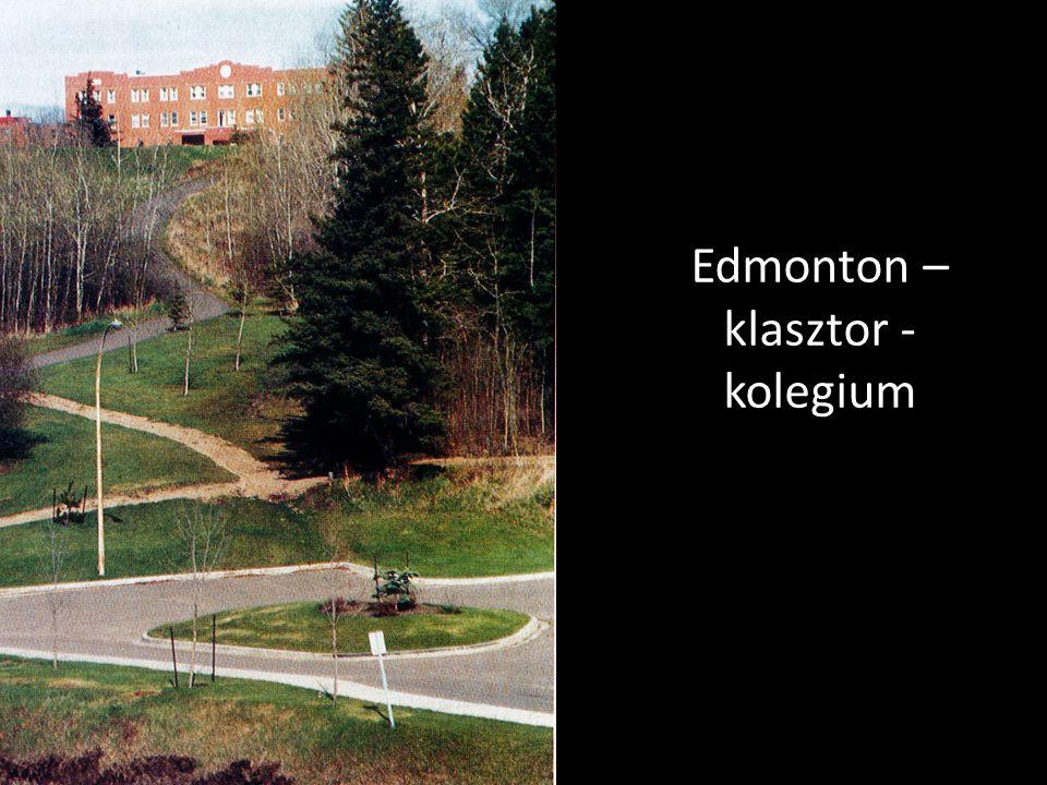 Edmonton – klasztor - kolegium