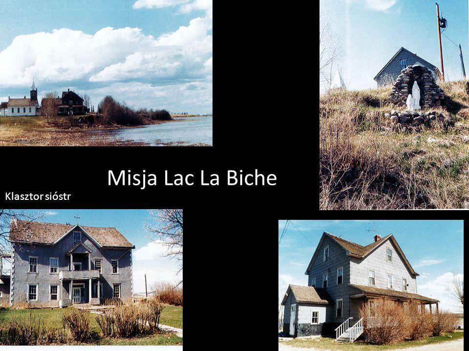 Misja Lac La Biche Klasztor sióstr