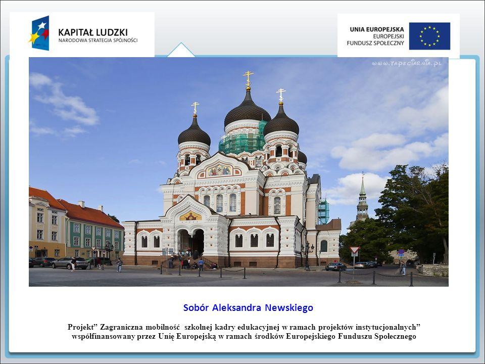 """Projekt"""" Zagraniczna mobilność szkolnej kadry edukacyjnej w ramach projektów instytucjonalnych"""" współfinansowany przez Unię Europejską w ramach środkó"""