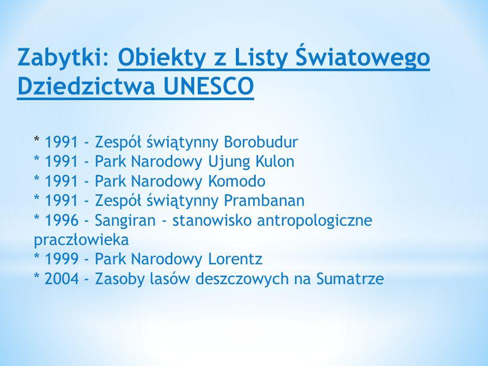 Zabytki: Obiekty z Listy Światowego Dziedzictwa UNESCO