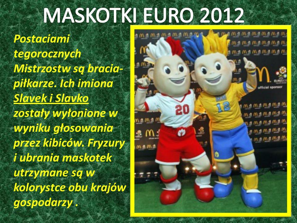 Postaciami tegorocznych Mistrzostw są bracia- piłkarze.