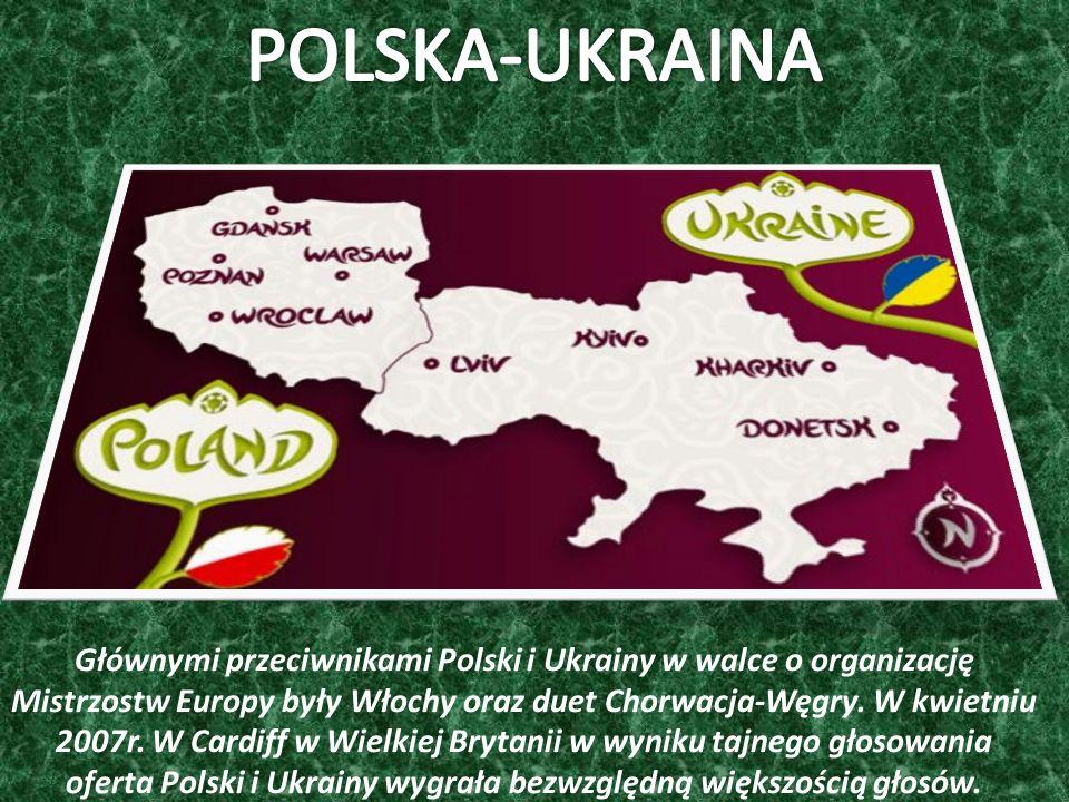 Głównymi przeciwnikami Polski i Ukrainy w walce o organizację Mistrzostw Europy były Włochy oraz duet Chorwacja-Węgry.
