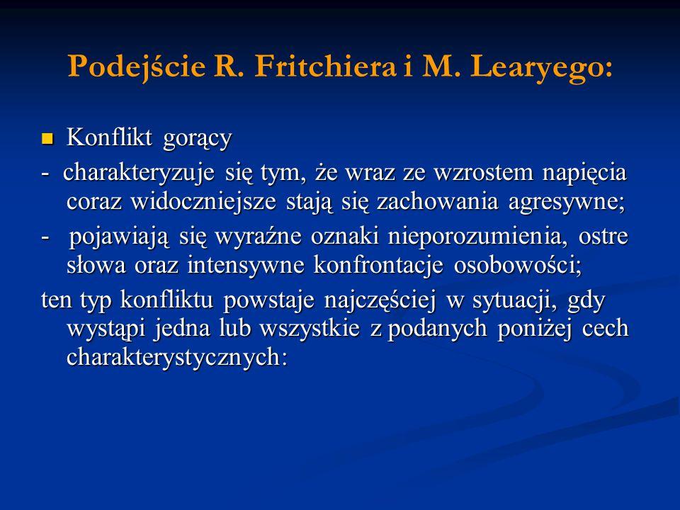 Podejście R.Fritchiera i M.