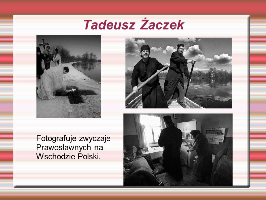 Zofia Rydet ZAPIS SOCJOLOGICZNY Jest najważniejszą Polską fotografką etnograficzną.