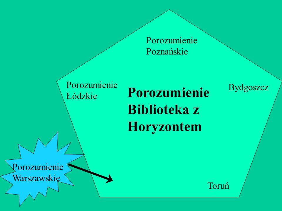 Porozumienie Łódzkie Porozumienie Poznańskie Toruń Bydgoszcz Porozumienie Biblioteka z Horyzontem Porozumienie Warszawskie