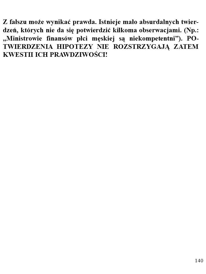 139 OTO ZAŚ UZASADNIENIE DRUGIEGO POSTULATU POPPE- RA...
