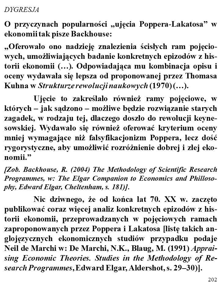 """201 Ocena teorii zależy od wielu dodatkowych kryteriów, a nie tylko od stopnia jej obserwacyjnego potwierdzenia (PAMIĘ- TASZ """"BRZYTWĘ OCKHAMA ?)."""