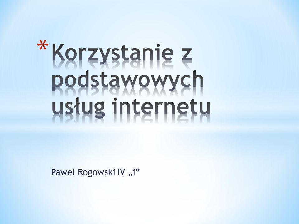 """Paweł Rogowski IV """"i"""""""