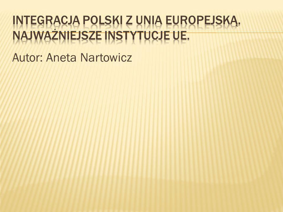 Integracja to formalny, świadom proces, mający na celu pogłębienie wzajemnych powiązań i wymiany między grupą krajów.