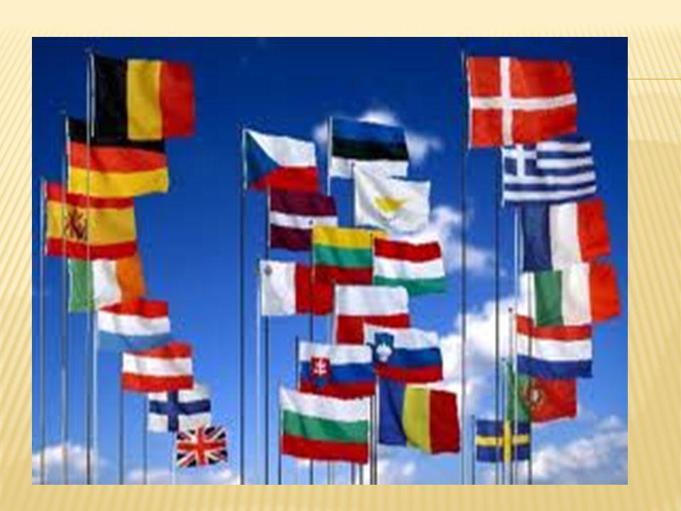Unia Europejska- utworzona 7 lutego 1992 roku w Maastricht (w życie 1 listopad 1993) ponadnarodowa, ponadpaństwowa organizacja polityczno -gospodarcza, która wchłonęła Wspólnoty Europejskie, posiadająca osobowość prawną, działająca na podstawie umowy międzynarodowej, skupiająca obecnie 27 państw.