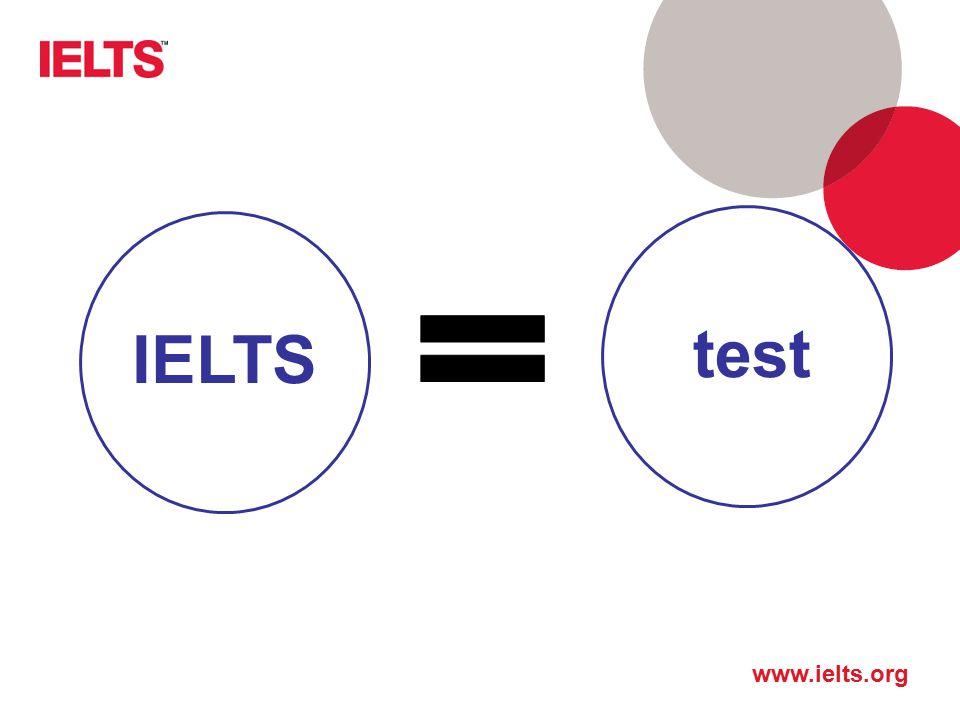 www.ielts.org IELTStest