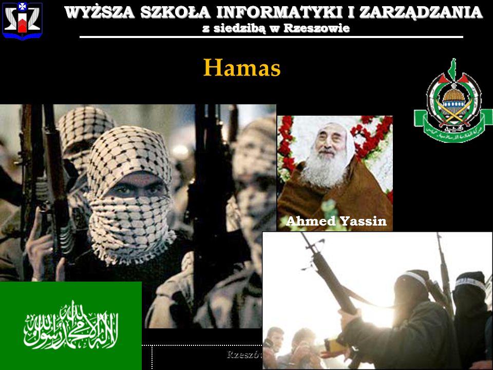 WYŻSZA SZKOŁA INFORMATYKI I ZARZĄDZANIA z siedzibą w Rzeszowie 10 WYŻSZA SZKOŁA INFORMATYKI I ZARZĄDZANIA z siedzibą w Rzeszowie Rzeszów Hamas Ahmed Y