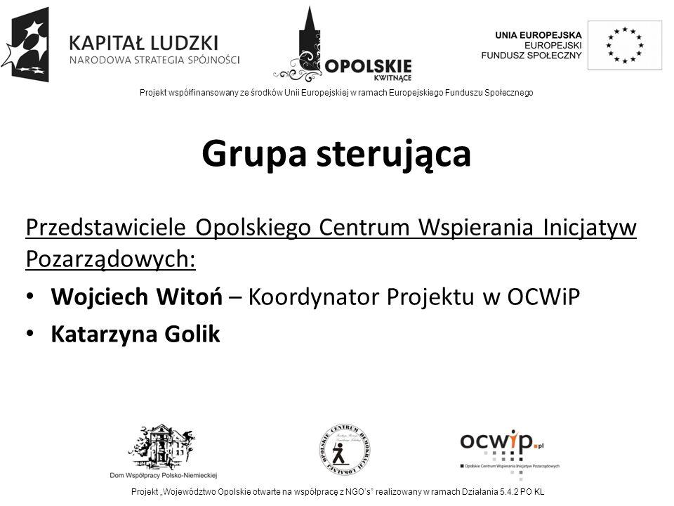 Zaplanowane działania Poszerzenie formuły konkursowej Opolskie Niezapominajki o dodatkową kategorię Społecznik Roku – powołanie zespołu roboczego ds.