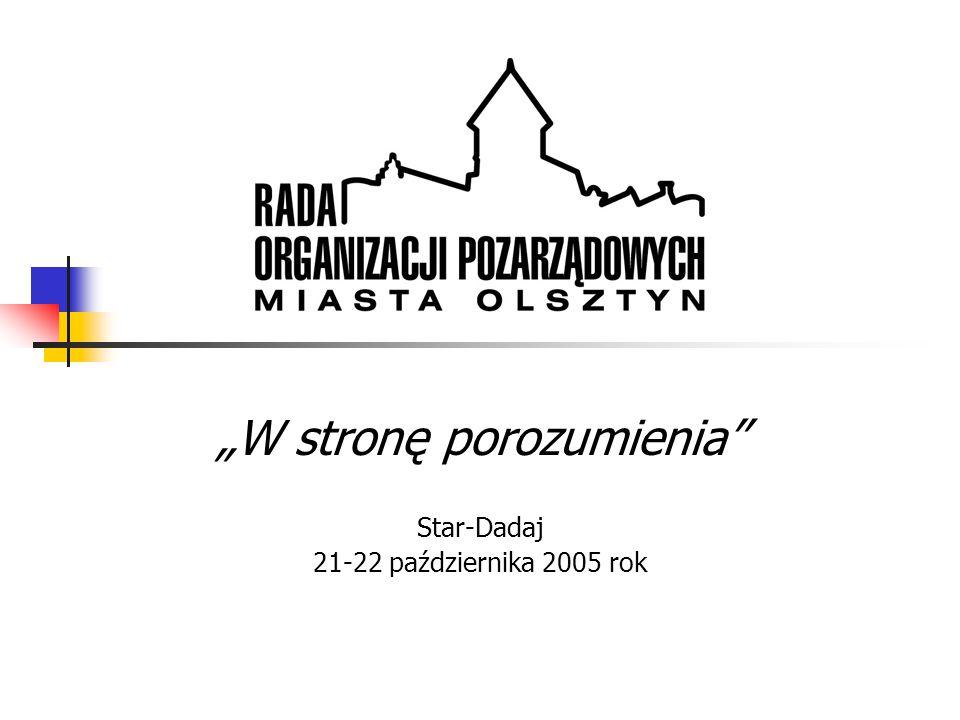 """""""W stronę porozumienia Star-Dadaj 21-22 października 2005 rok"""