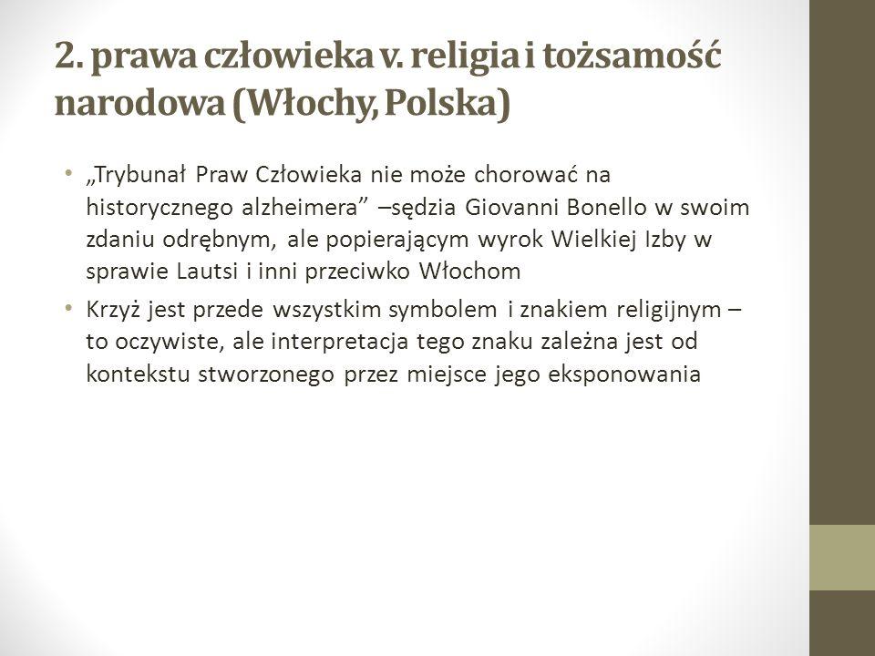 Jakie jest znaczenie symboli religijnych w przestrzeni publicznej w Polsce.