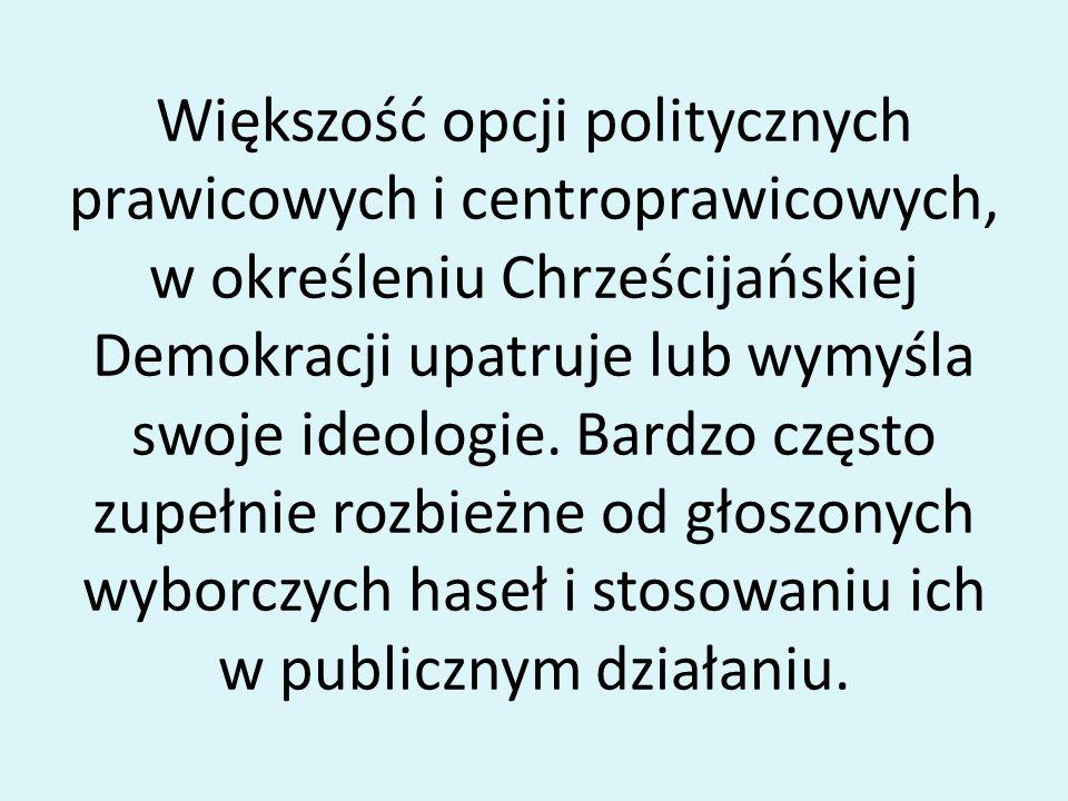 Józef Piłsudzki nie traktował chadecji przyjaźnie, ale też nie dopuszczał do zaognienia stosunków społecznych w skali jaka nastąpiła po jego śmierci.