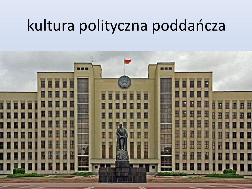kultura polityczna poddańcza