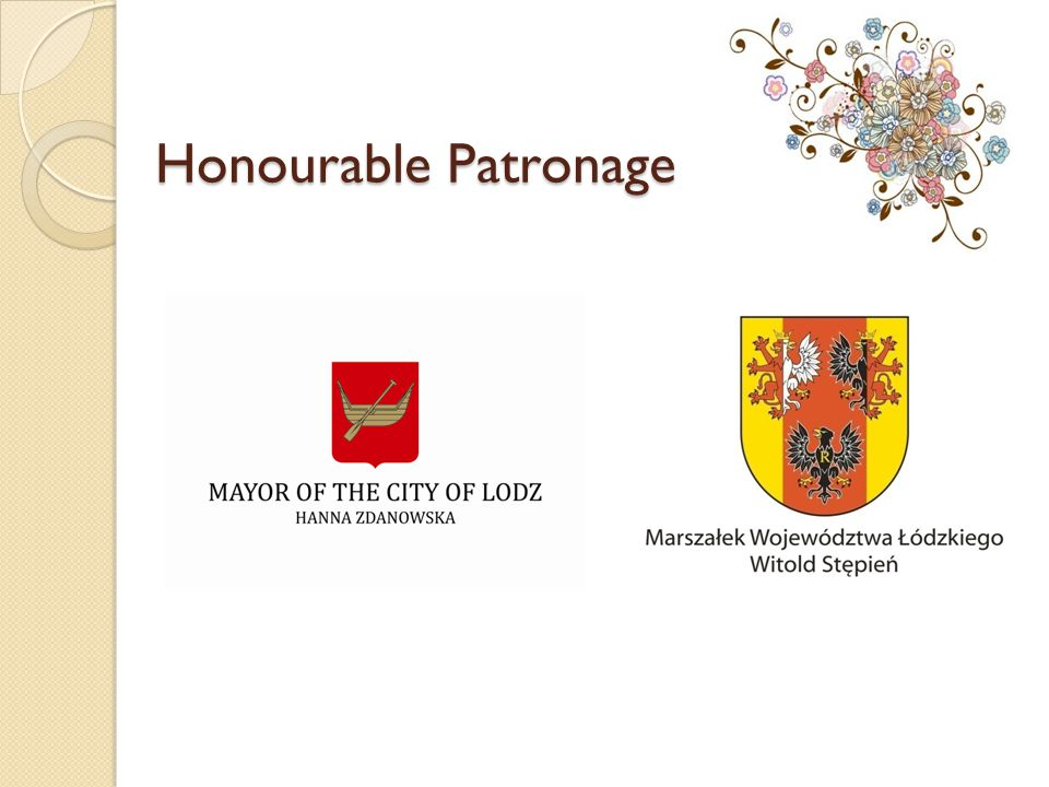 Honourable Patronage