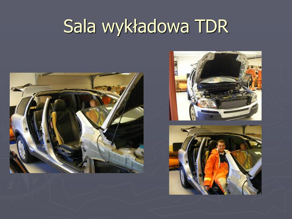Sala wykładowa TDR