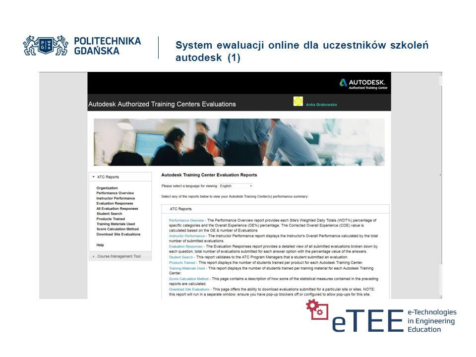 System ewaluacji online dla uczestników szkoleń autodesk (2)