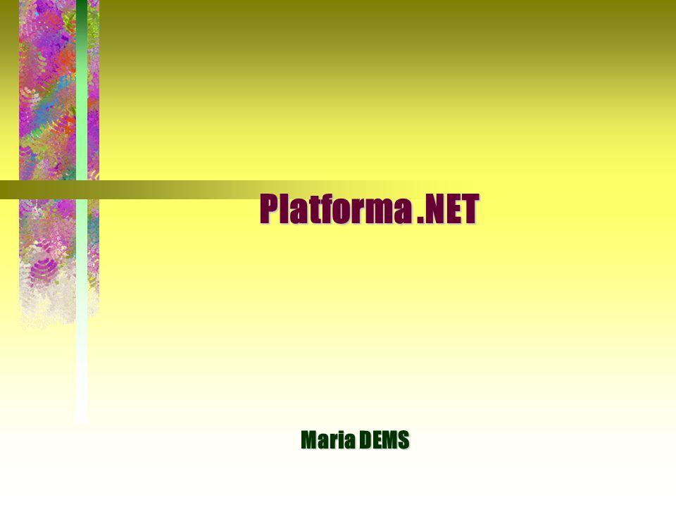 12 Główne cele środowiska CLR Główne cele środowiska CLR  Proste i bezpieczne wdrażanie aplikacji  Proste i bezpieczne wdrażanie aplikacji:  aplikacje tworzone w środowisku.NET można instalować przez skopiowanie plików na dysk lub z płyty CD i uruchomienie aplikacji, gdyż kompilatory.NET wstawiają identyfikatory w kompilowane moduły, a CLR automatycznie zarządza tymi identyfikatorami.