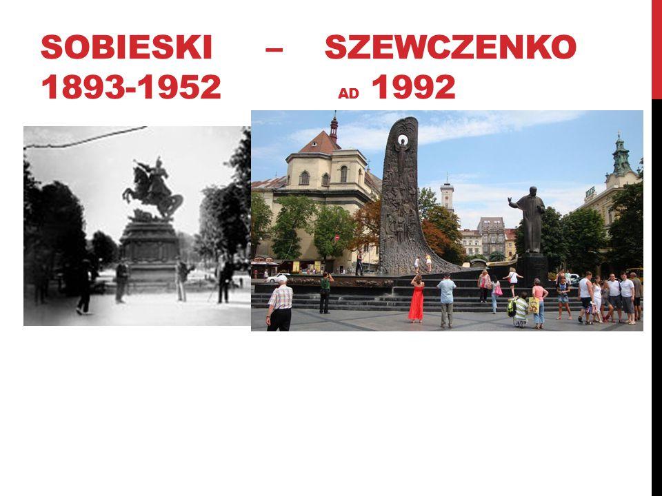 SOBIESKI – SZEWCZENKO 1893-1952 AD 1992
