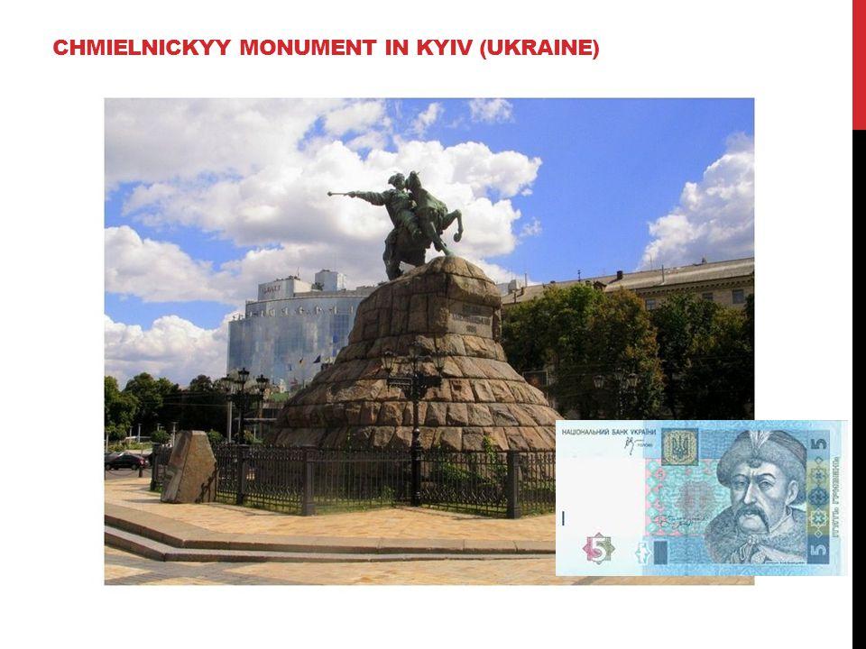 CHMIELNICKYY MONUMENT IN KYIV (UKRAINE)