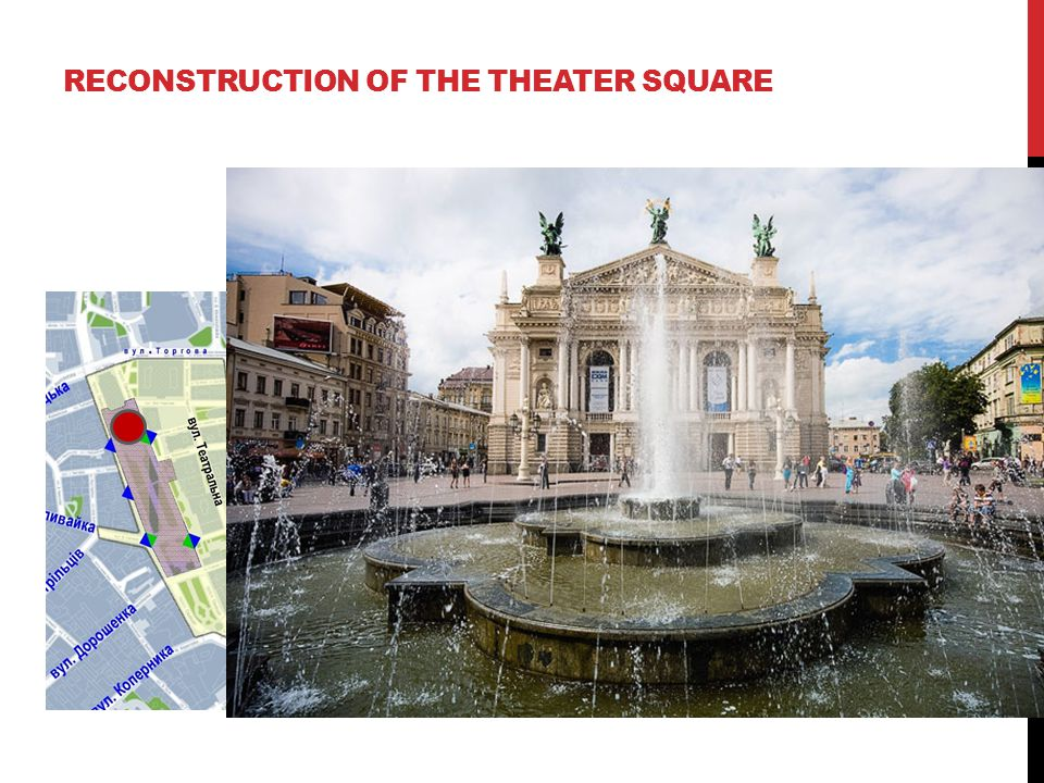 RECONSTRUCTION OF THE THEATER SQUARE