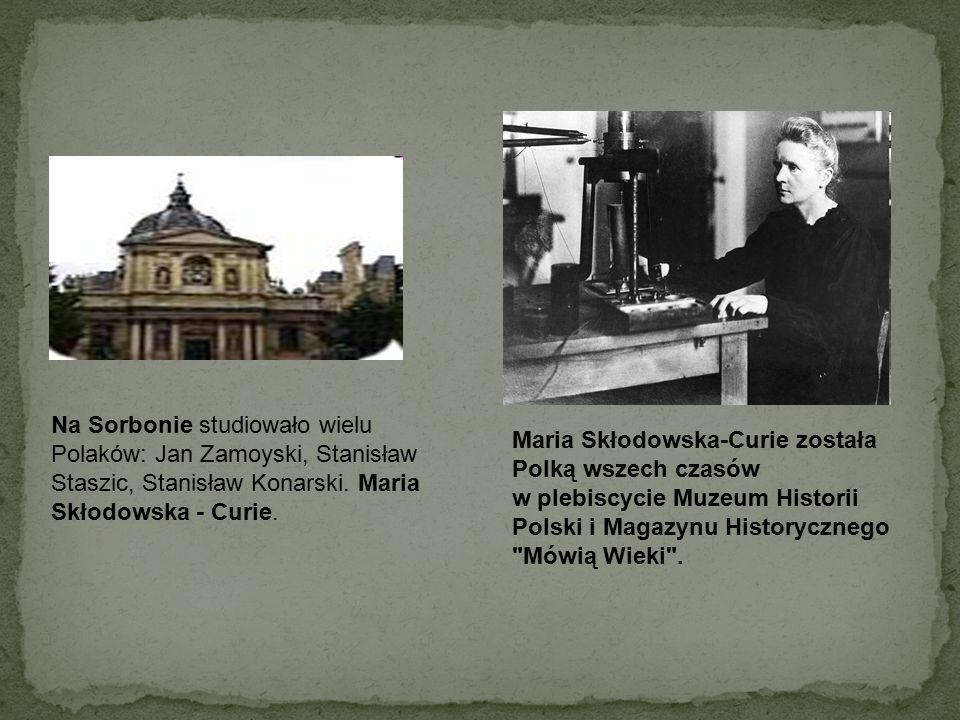 Ulica Marii Skłodowskiej - Curie – niewielka ulica na Ochocie, prostopadła do ulicy Wawelskiej, przy której znajduje się Instytut Radowy i pomnik naszej noblistki.