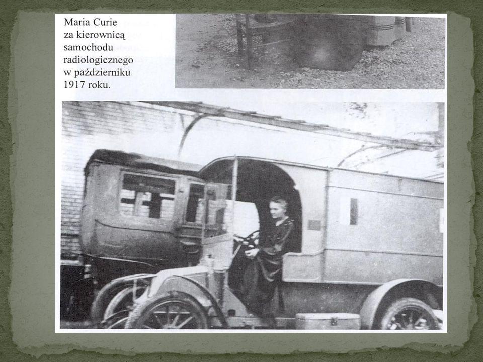 W lipcu 1916 roku jako jedna z pierwszych kobiet zrobiła prawo jazdy, by móc prowadzić półciężarowy samochód.