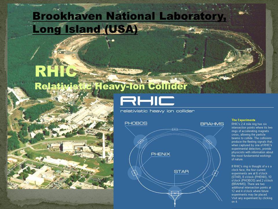 RHIC - Relativistic Heavy Ion Collider (Zderzacz Relatywistycznych Ciężkich Jonów) v=0.99996c Jak to robimy?