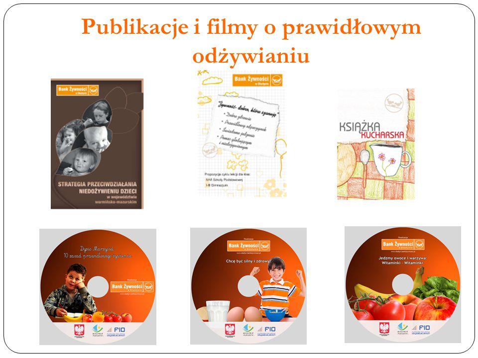 Publikacje i filmy o prawidłowym odżywianiu