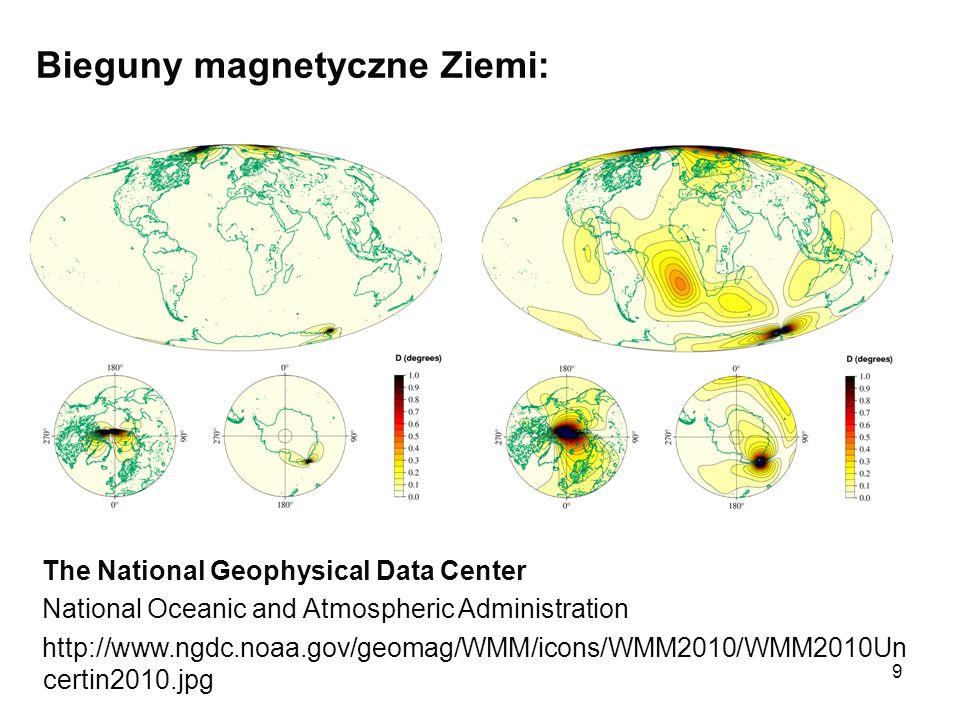 10 INTERMAGNET - globalna sieć obserwatoriów, monitorowania pola magnetycznego Ziemi.